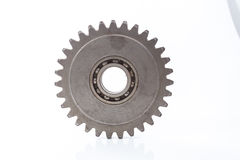Gear Wheel. Cogwheel for replacement auto parts to improve the car Stock Photos