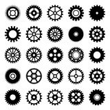 Gear wheel icons set 1 Royalty Free Stock Photography