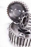 Transmission gear parts Royalty Free Stock Image