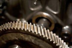 Gear Wheel. A part of moto block. Gear wheel Stock Photo