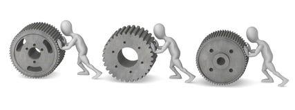 Gear wheel s Stock Image