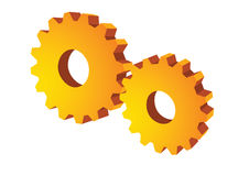 Gear wheel - vector Royalty Free Stock Image