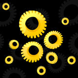 Gear wheel2 Royalty Free Stock Images
