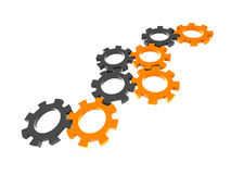 Gear wheels Royalty Free Stock Photography