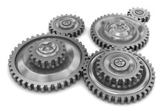 Gear wheels Stock Image