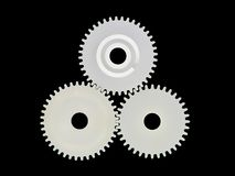 Gear wheels. Stock Photo