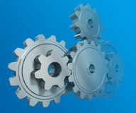 The gear wheels Royalty Free Stock Photos