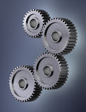 Gear wheels. Four gear wheels symbolizing perfect teamwork Royalty Free Stock Image
