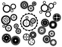 Gear wheels royalty free illustration
