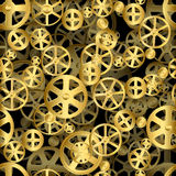 Gear Wheels Background Stock Images