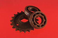 Gear wheels and cogs, Royalty Free Stock Photo