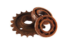 Gear wheels and cogs Stock Image