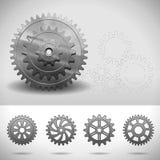 Gear Wheels, Cogwheels Stock Photography
