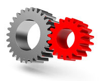 The gear wheels Royalty Free Stock Photography