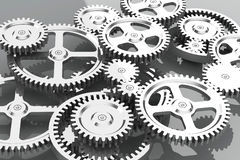 The gear wheels Stock Photos