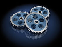 Gear wheels Stock Photo