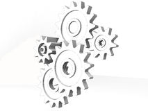 Gear wheels - detail Stock Images