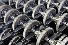 Gear wheels for gearbox Stock Photo