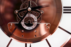Gear wheels hours stock photography