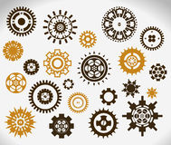 Gear wheels icon Stock Photography
