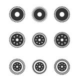 Gear wheels isolated on light background Royalty Free Stock Photo