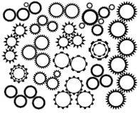 Gear wheels mechanism Royalty Free Stock Image