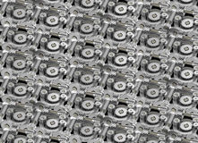Gear wheels pattern Stock Photo