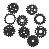 Gear wheels scene Stock Photography