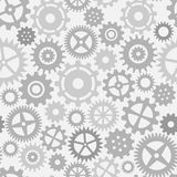 Gear wheels seamless pattern Stock Images