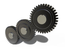 Gear wheels system Stock Photography