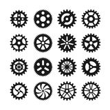 Gear wheels vector icons Royalty Free Stock Photo