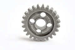 Gear on white Stock Photography