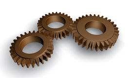 Gear working Royalty Free Stock Images
