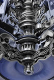 Gearbox automobilowy przekaz Obrazy Royalty Free