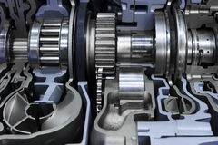 Gearbox automotive transmission Royalty Free Stock Image