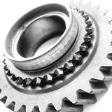 Gearbox Cog. Part of a car gearbox Stock Image