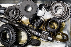 Gearbox components Stock Photos