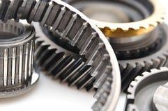 Gearbox części odizolowywać na białym tle. Obraz Royalty Free