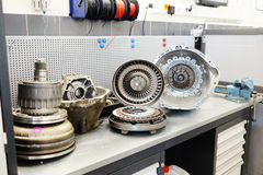 Gearbox parts Stock Photos