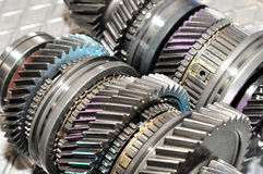 Gearbox parts. Stock Images
