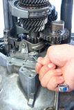 Gearbox repair Royalty Free Stock Photography