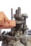 Gearbox service Stock Image