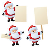 Gearing up for Christmas. Santa starts to get mail and advertise your messages in preparation for the big day Royalty Free Stock Photography