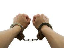 Gearresteerd Stock Fotografie