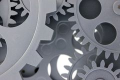 Gears. Royalty Free Stock Photos