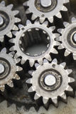 Gears. A closeup of mechanism gears Royalty Free Stock Photography