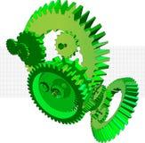 Gears4 lizenzfreie stockfotos