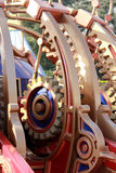 Gears. Giant gears illustrating craftsmanship of the artist Royalty Free Stock Photo