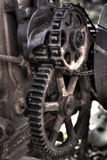 Gears. Cogs & Gears from an antique Eagle 75 tractor made in Appleton, WI Stock Images