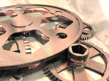 Gears. Gear wheels Royalty Free Stock Photography